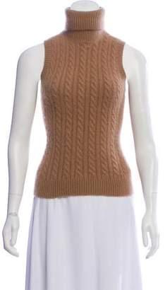 042d8145c26810 Sleeveless Cashmere Turtleneck - ShopStyle