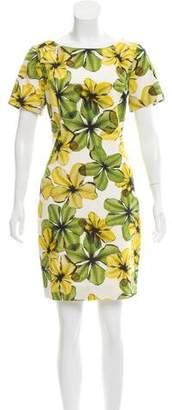 Jason Wu Floral Print Mini Dress