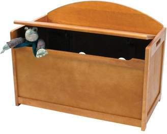 Lipper Child's Toy Chest, Pecan Finish
