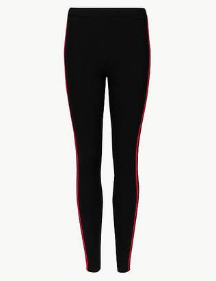 Marks and Spencer Ponte Side Stripe Leggings