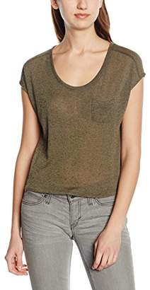Only Women's Onllaura SS Top Ess T-Shirt