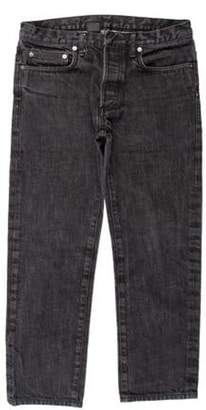 Christian Dior Distressed Skinny Jeans black Distressed Skinny Jeans