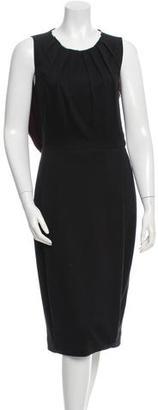 Rachel Roy Gathered Midi Dress $160 thestylecure.com