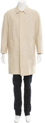 Burberry Nova Check-Lined Car Coat