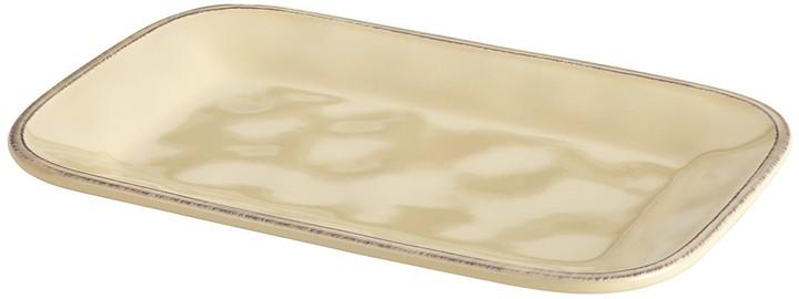 Almond Cream Cucina Dinnerware 8 x 12 Rectangular Platter