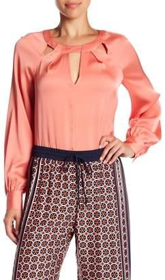 Trina Turk Maritsa Silk Blend Blouse