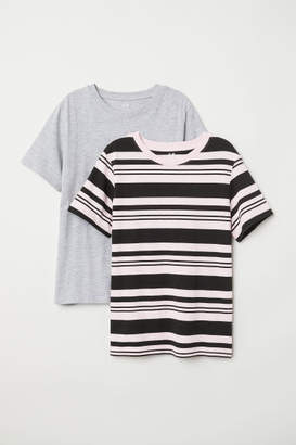 H&M 2-pack T-shirts - Pink