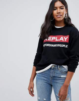 Replay No Ordinary People Sweatshirt