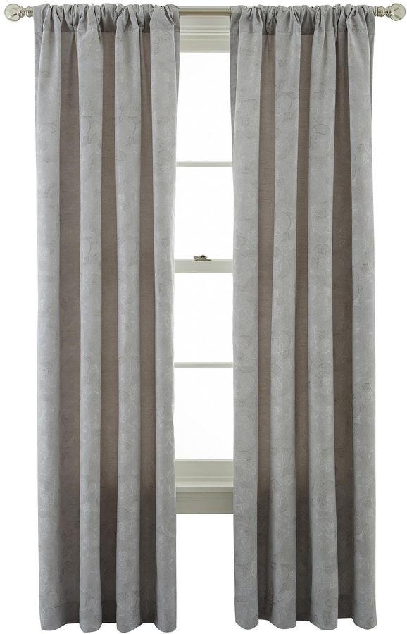 Royal Velvet Serene Window Curtain Panel Shopstyle Home