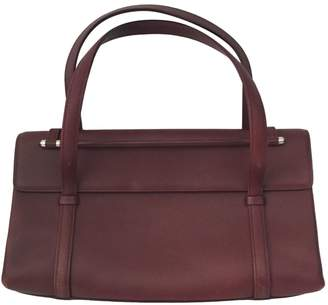 Cartier 100% Authentic Burgundy Leather Bag