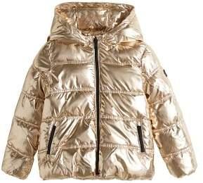 MANGO Metallic puffer jacket