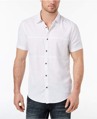 INC International Concepts I.n.c. Men's Print Blocked Shirt, Created for Macy's