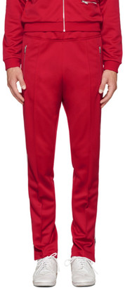 Maison Margiela Red Track Pants $885 thestylecure.com
