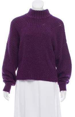 Rebecca Minkoff Long Sleeve Mock Neck Sweater