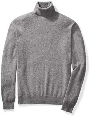 Buttoned Down Men's Cashmere Turtleneck Sweater