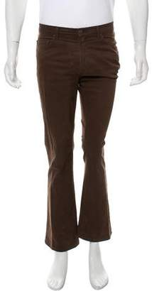 Just Cavalli Flat Front Cropped Pants