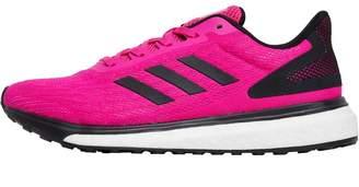 53347dd4fc93 adidas Womens Response LT Neutral Running Shoes Shock Pink Core Black Core  Black