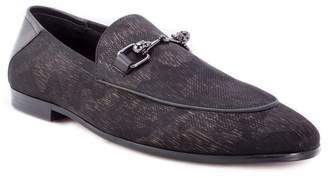 Robert Graham Barton Leather Detailed Loafer