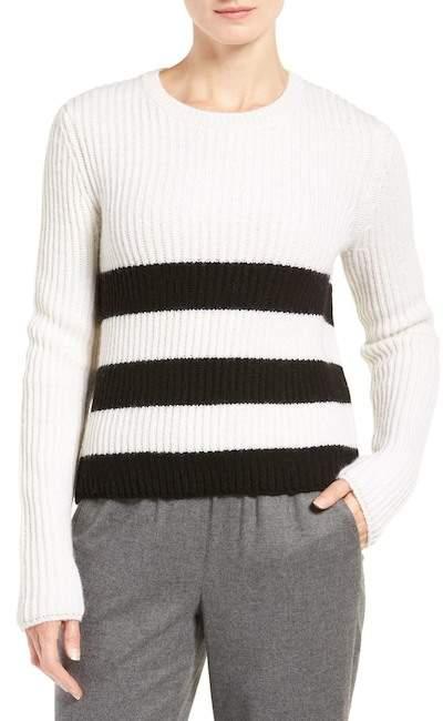 EquipmentEquipment Carson Stripe Wool & Alpaca Pullover