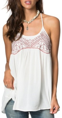 Women's O'Neill Talullah Embroidered Swing Tank $42 thestylecure.com