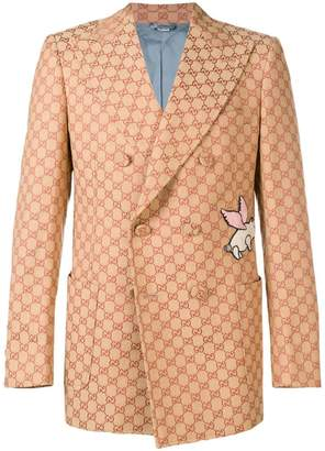 Gucci GG canvas jacket with patch