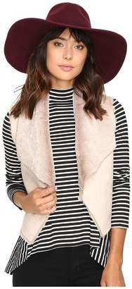 BB Dakota Pryor Faux Suede w/ Faux Fur Vest Women's Vest