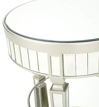 House of Hampton Lemmon Mirrored End Table