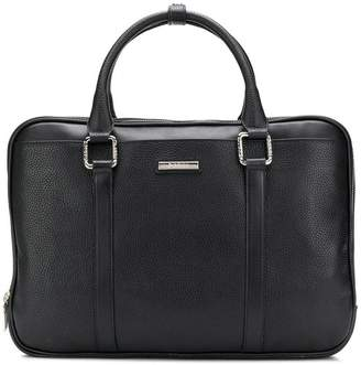 Baldinini logo plaque briefcase