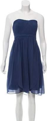 Jenny Yoo Strapless Mini Dress