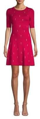 Kensie Dresses Short-Sleeve Sweater Dress