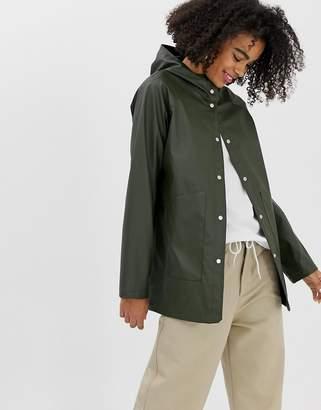 Herschel classic hooded waterproof jacket