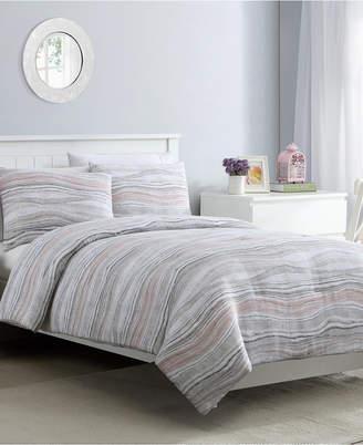 Marble 3 Piece King Comforter Set Bedding