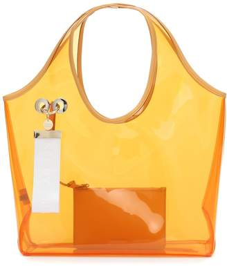 See by Chloe Jay PVC and leather tote