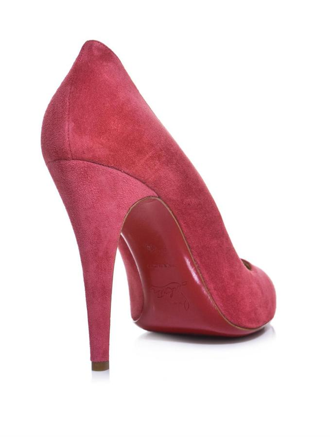 Christian Louboutin Ron Ron 100mm suede pumps