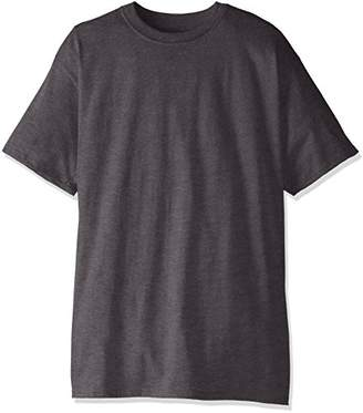 Hanes Men's Big and Tall Short-Sleeve Beefy T-Shirt (Pack of Two),XLT