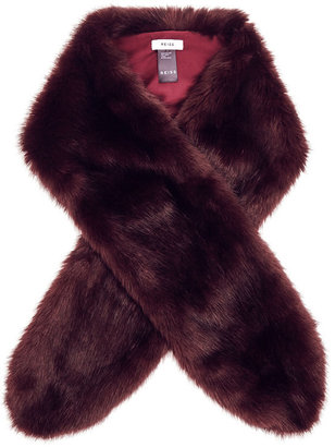 Laska Faux-Fur Scarf $160 thestylecure.com