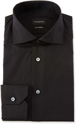 Ermenegildo Zegna Men's Trofeo Comfort Solid Dress Shirt