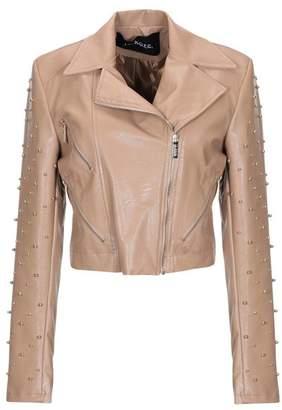 c779c97ac1 Womens Camel Leather Jacket - ShopStyle UK