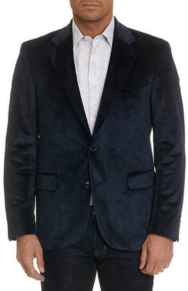 Robert Graham Barton Jacquard Two-Button Jacket