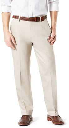 Dockers Men's Relaxed-Fit Signature Khaki Lux Cotton Stretch Pants D4