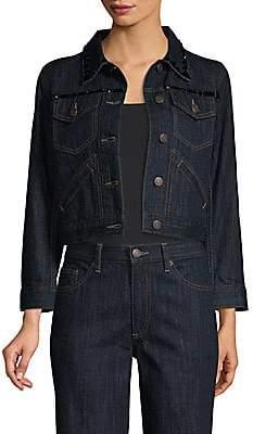 Marc Jacobs (マーク ジェイコブス) - Marc Jacobs Women's Shrunken Denim Jacket