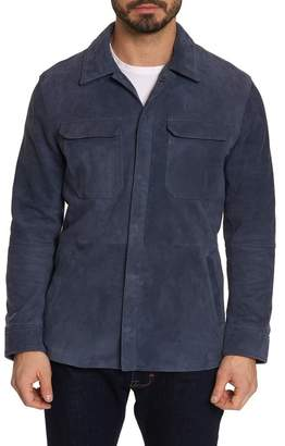Robert Graham Reavey Suede Shirt Jacket