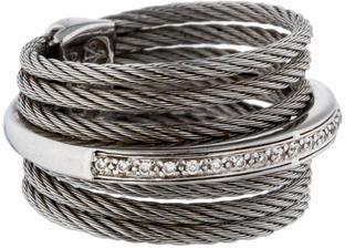 CharriolCharriol ALOR Diamond & Cable Ring