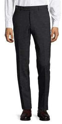 Ted Baker Mini Checkered Wool Dress Pants