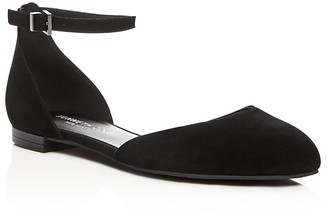Kenneth Cole Willow Ankle Strap d'Orsay Flats $120 thestylecure.com