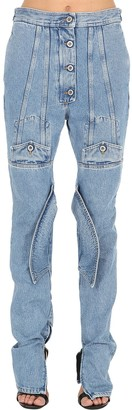 Shayne Oliver Pocket Cotton Denim Jeans