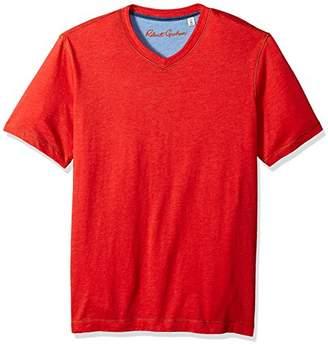 Robert Graham Men's Classic Fit Basic Knit Tee-Shirt