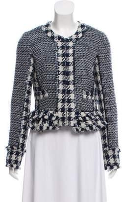 Tory Burch Embellished Tweed Jacket