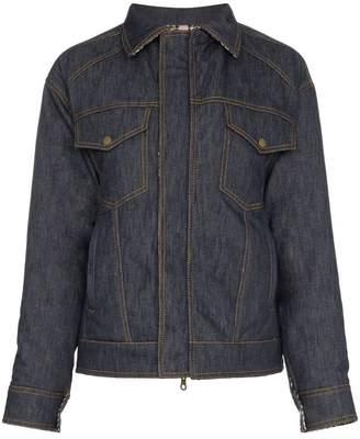 Rosie Assoulin reversible wool puffer jacket