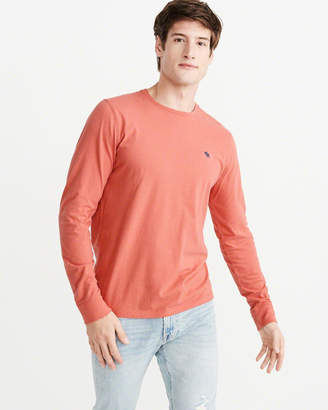 Abercrombie & Fitch Long-Sleeve Icon Crew Tee